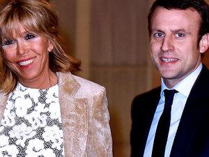 Brigitte i Emmanuelle Macron