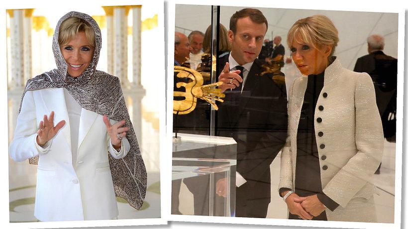 Brigitte Macron stylizacje