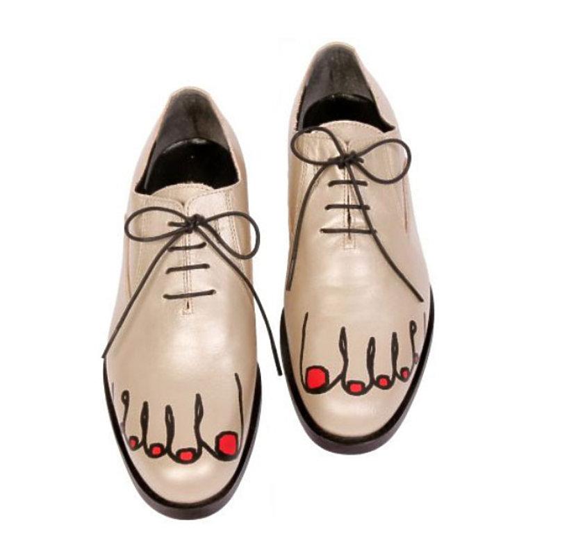 брендовая обувь с приколами в картинках мода коснулась