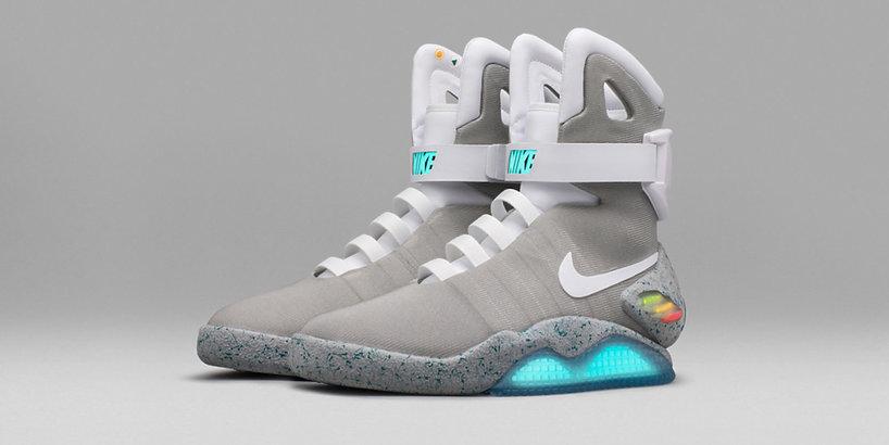 Buty Nike które same się sznurują