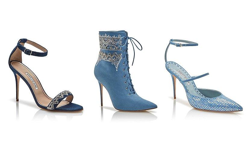 Buty zaprojektowane przez Rihanne i Manolo Blahnika