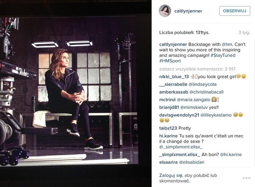 Caitlyn Jenner dla H&M