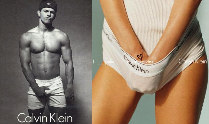 Calvin Klein zmienia swoje logo