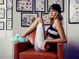 Cara Delevingne w kampanii marki Puma