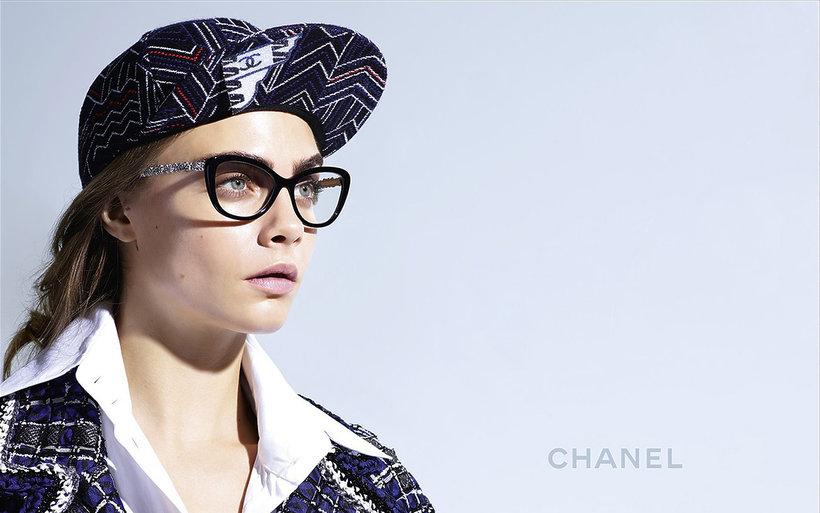 Cara Delevingne w kampanii okularów Chanel na wiosnę - lato 2016
