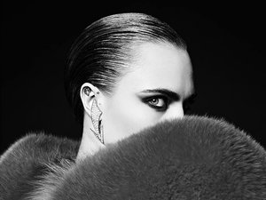 Cara Delevingne w nowej kampanii Saint Laurent