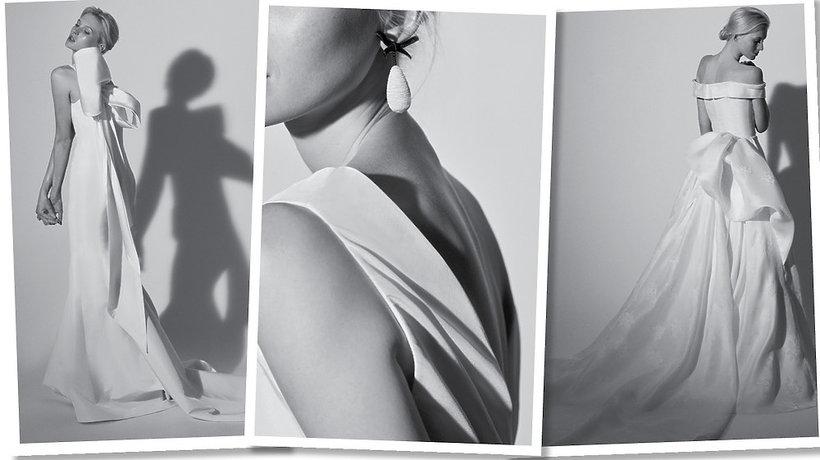 Carolina Herrera kolekcję sukien ślubnych na wiosnę 2018