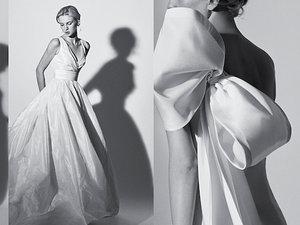 Carolina Herrera kolekcję sukien ślubnych na wiosnę 2018 Carolina Herrera kolekcję sukien ślubnych na wiosnę 2018