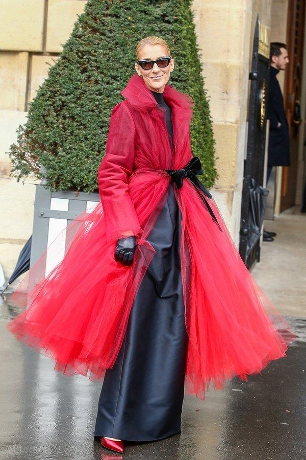 Celine Dion stylizacje Paryż 2019