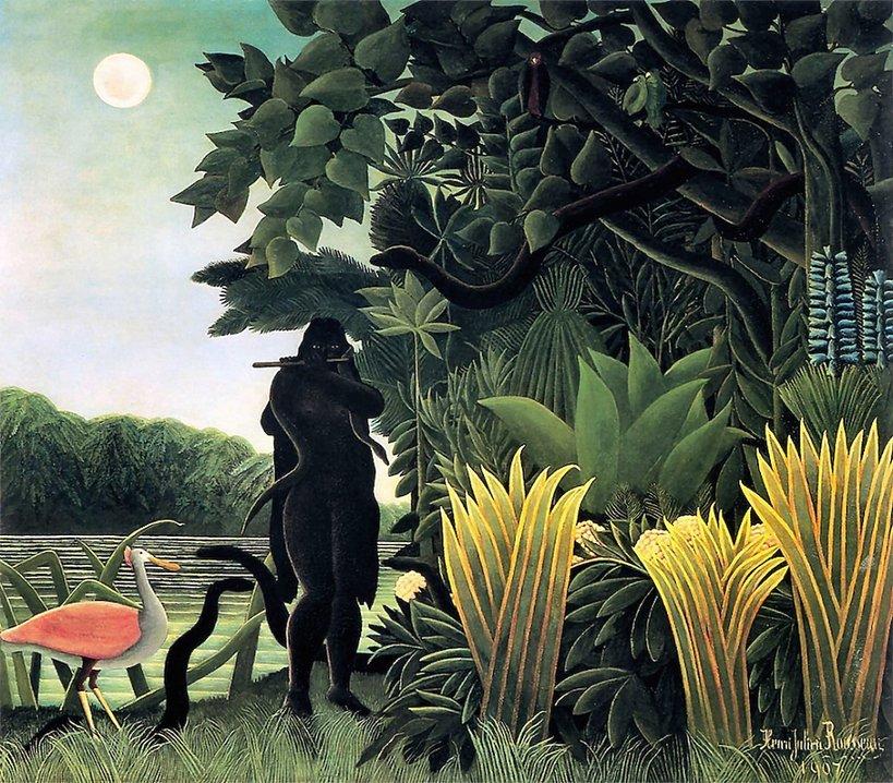 """Celnik Henri Rousseau """"Zaklinaczka węży"""