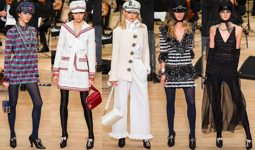 Chanel pokaz kolekcji Métiers d'Art na jesień i zimę 2018