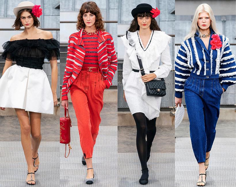 Chanel pokaz kolekcji na wiosnę 2020