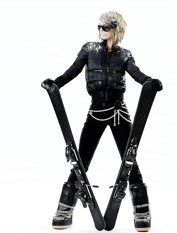 Chanel wprowadza nową kolekcję przeznaczoną dla wielbicielek sportów zimowych