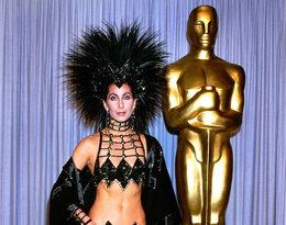 Cher najgorsze stylizacje kreacje w historii Oscarów