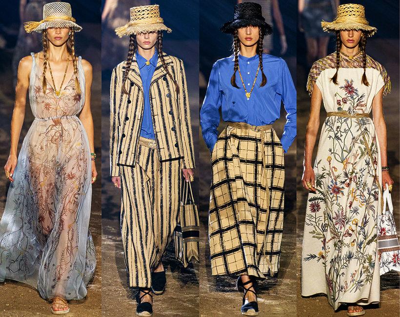 Christian Dior kolekcja na wiosnę 2020.