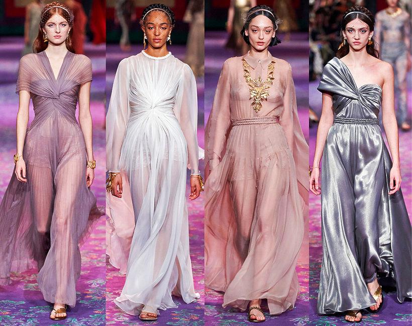 Christian Dior pokaz haute couture na wiosnę 2020