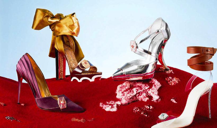 """Christian Louboutin zaprojektował buty zainspirowane… najnowszą częścią """"Gwiezdnych wojen"""""""