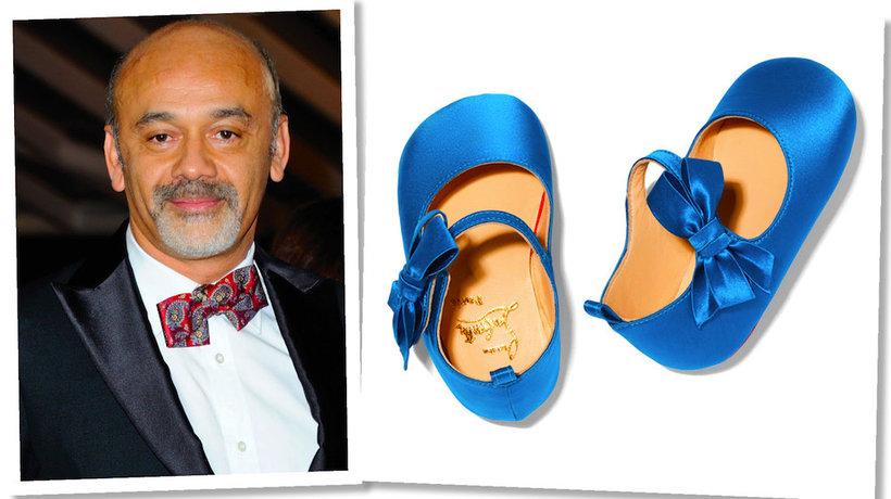 Christian Louboutin zaprojektował pierwszą kolekcję butów dziecięcych