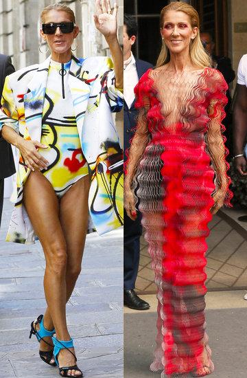 Céline Dion stylizacje Paryż pokazy haute couture na jesień 2019