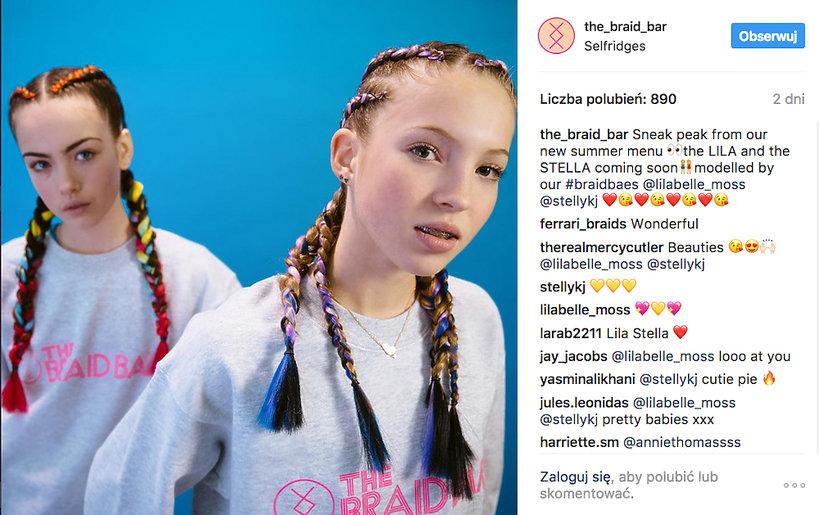 córka Kate Moss, Lila Grace Hack wystąpiła w pierwszej reklamie