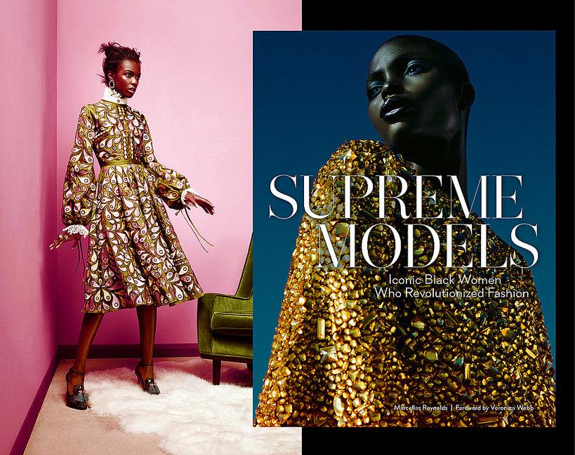 "Czarnoskóre modelki, które zmieniły historię mody, album ""Supreme Models"""