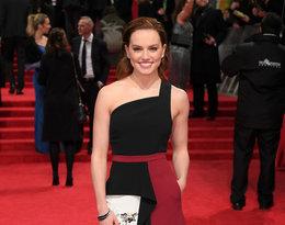 Daisy Ridley na rozdaniu nagród BAFTA 2017 rok