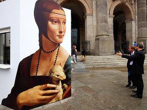 """Dama z gronostajem"" Leonardo da Vinci"