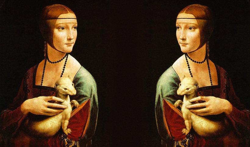 """Dama z gronostajem"" Leonardo da Vinci ""Dama z gronostajem"" Leonardo da Vinci"