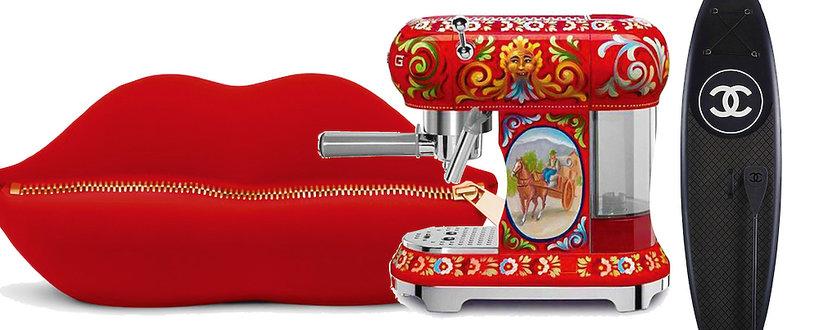 Design od projektantów Moschino chanel Dolce & Gabbana