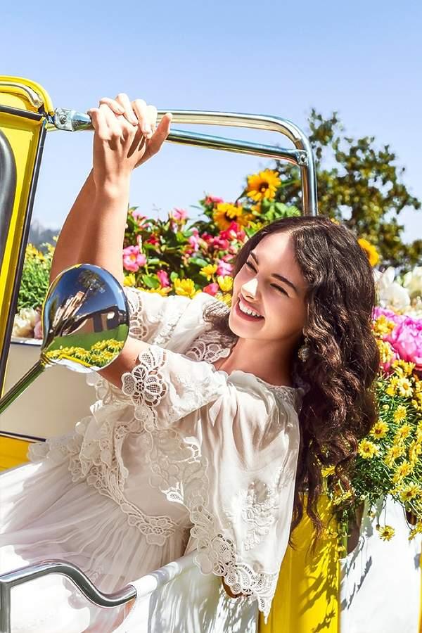 Deva Cassel 15-letnia córka Moniki Bellucci w reklamie Dolce &Gabbana