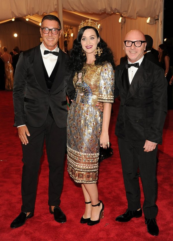 Dolce & Gabbana Katy Perry na Met Gala 2013 roku
