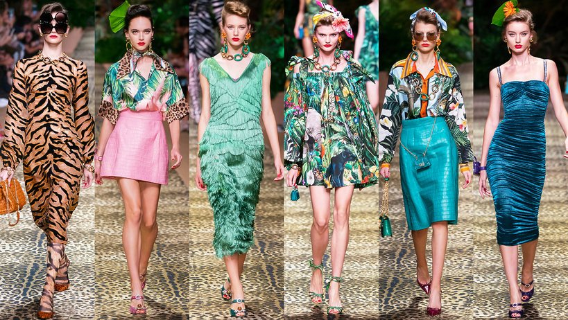 Dolce & Gabbana kolekcja na wiosnę 2020
