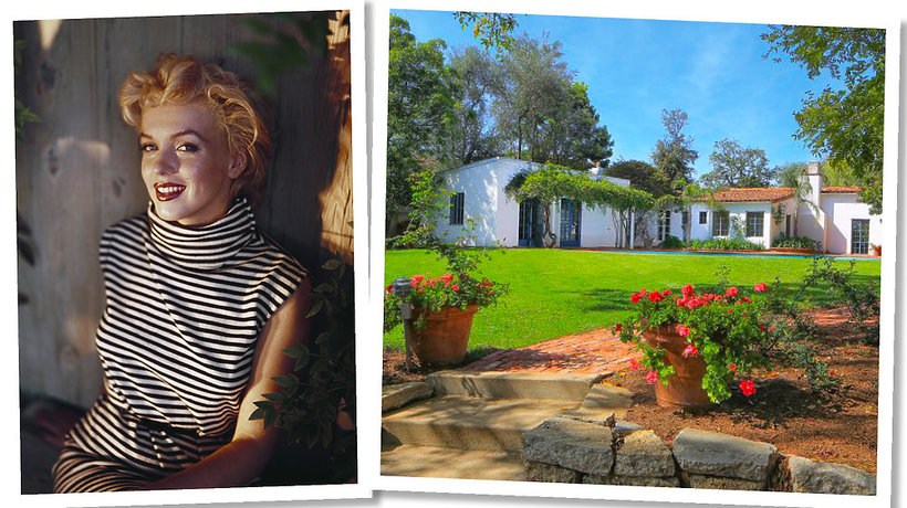 Dom Marilyn Monroe w Los Angeles wystawiono na sprzedaż