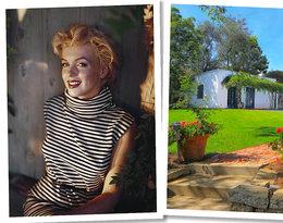Dom, w którym zmarła Marilyn Monroe, wystawiono na sprzedaż! Poznajcie jego mroczne sekrety