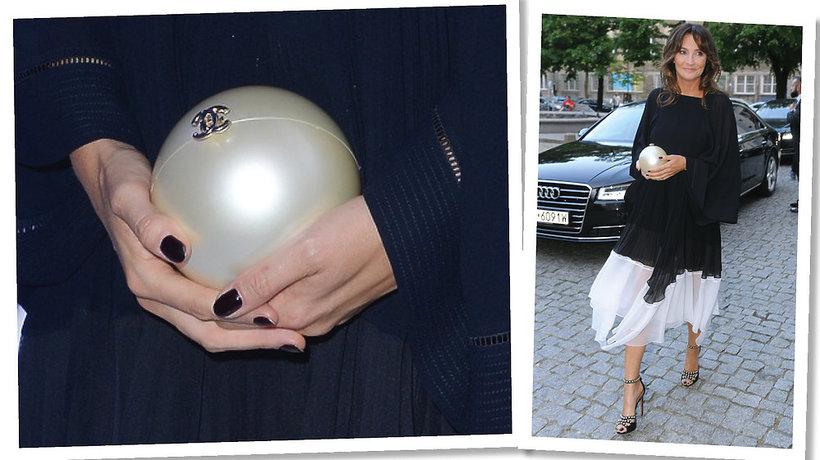Dominika Kulczyk z torebką Chanel