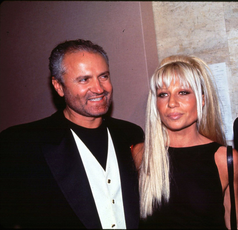 Donatella i Gianni Versace