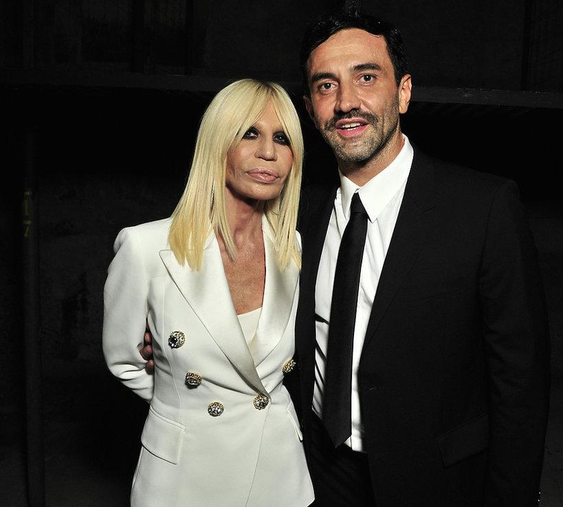 Donatella Versace, Riccardo Tisci