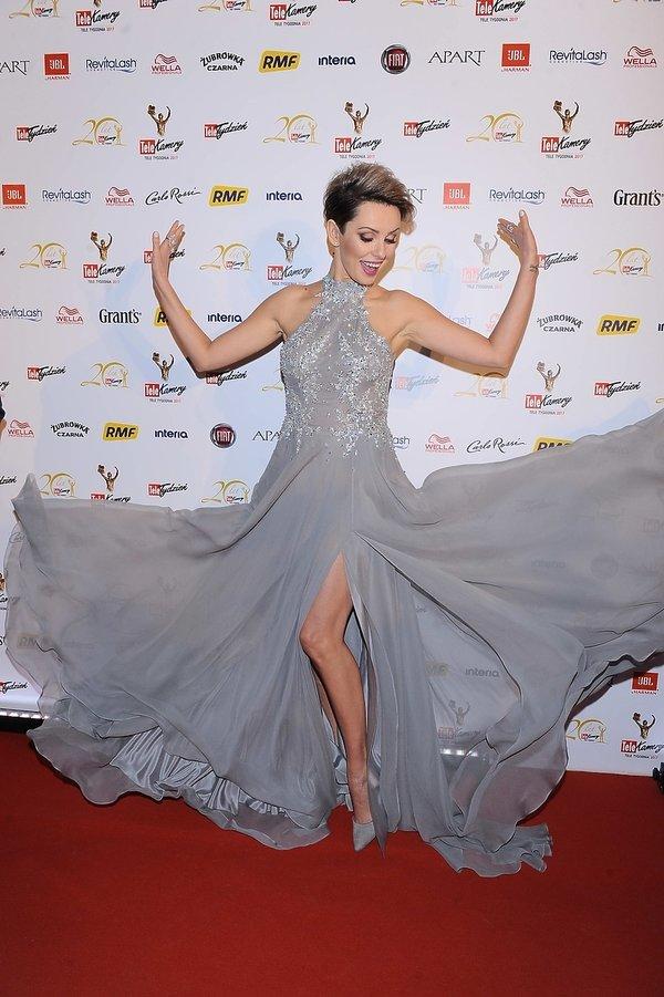 Dorota Gardias na gali Telekamery 2017