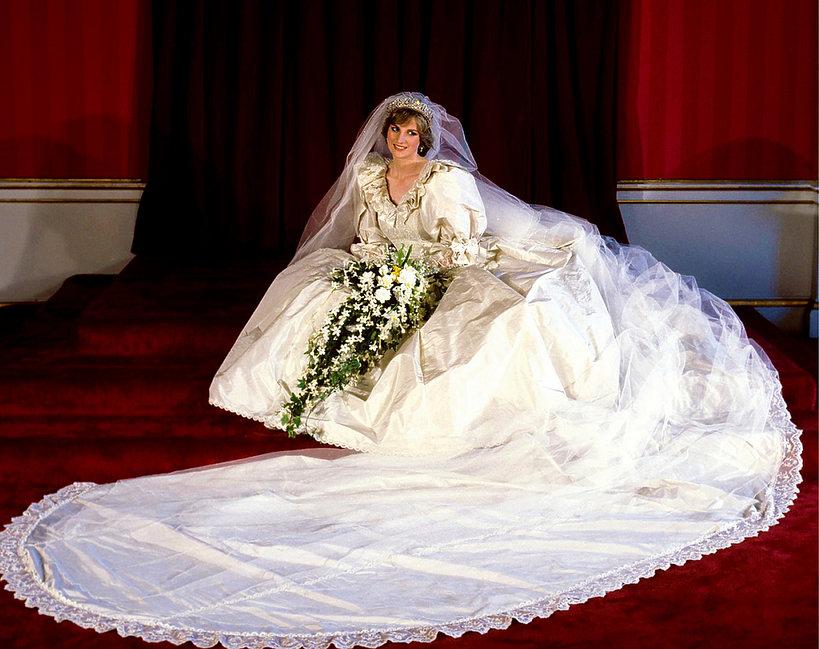 Druga suknia ślubna księżnej Diany