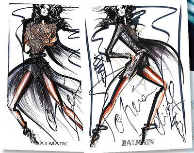 Dyrektor kreatywny domu mody Balmain, Olivier Rousteing zaprojektował kostiumy do Opery Paris