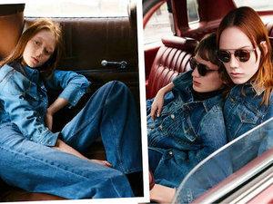 Dżinsy z najnowszej kolekcji domu mody Calvin Klein na jesień 2017