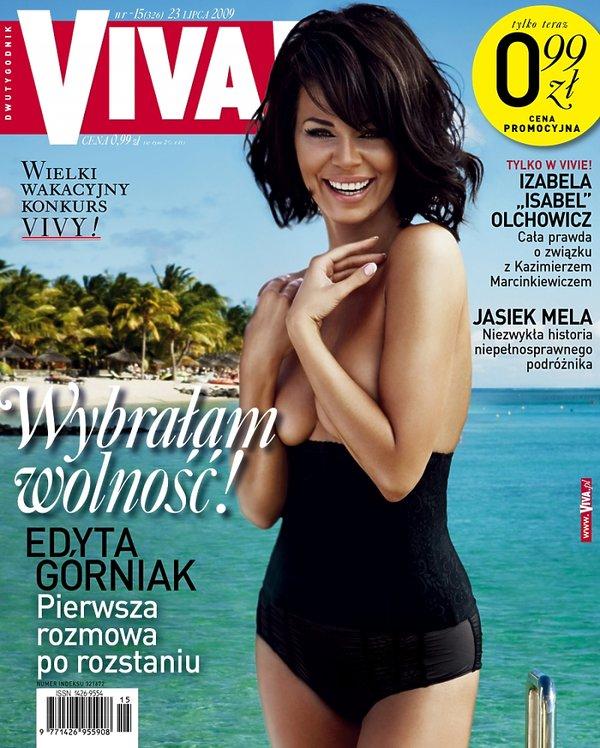 "Edyta Górniak, ""Viva!"" lipiec 2009"