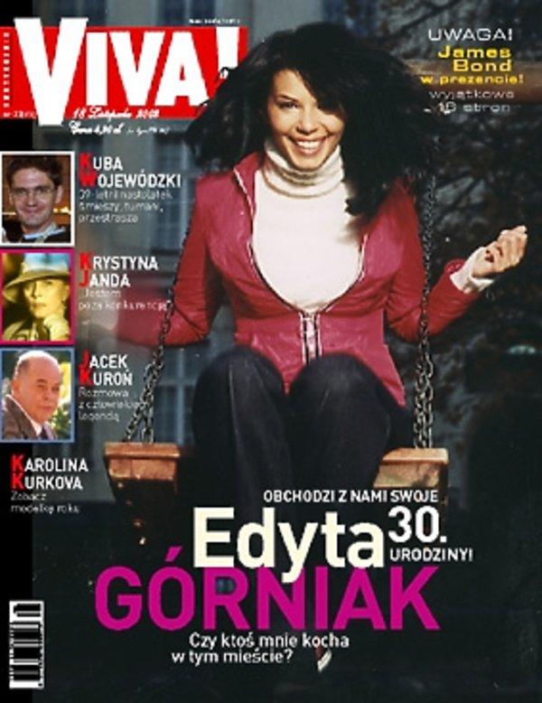 "Edyta Górniak, ""Viva!"" listopad 2002"
