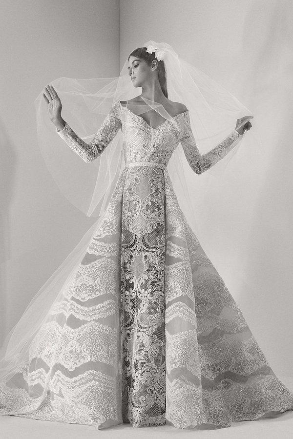 Elie Saab kolekcja sukien ślubnych na jesień 2017