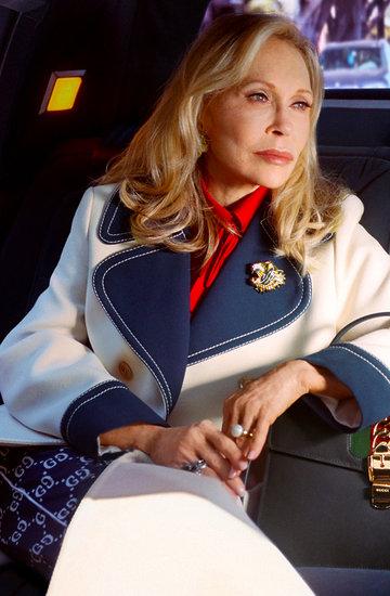 Faye Dunaway w najnowszej reklamie Gucci