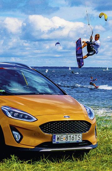 Ford Fiesta Active Cup Mistrzostwa Polski w kitesurfingu 2018, nowy Ford, Fiesta Active