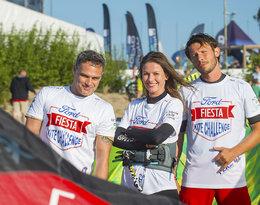 Gwiazdy na fali czyli… Agnieszka Kawiorska, Jan Wieczorkowski i Mateusz Banasiuk na Ford Fiesta Kite Challenge!