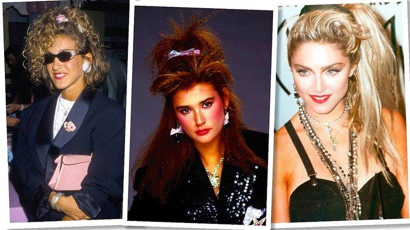 Frotki do włosów, gorący trend na wiosnę 2018, Madonna, Demi Moore, Sarah Jessica Parker
