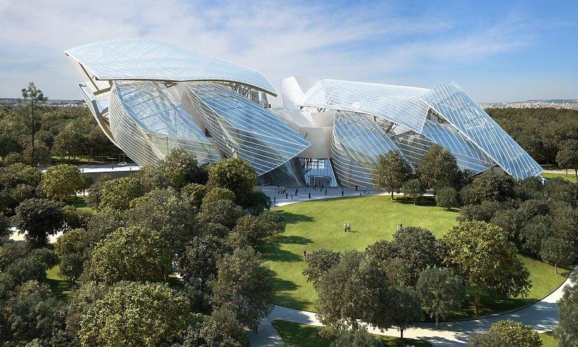 Fundacji Louis Vuitton w Paryżu
