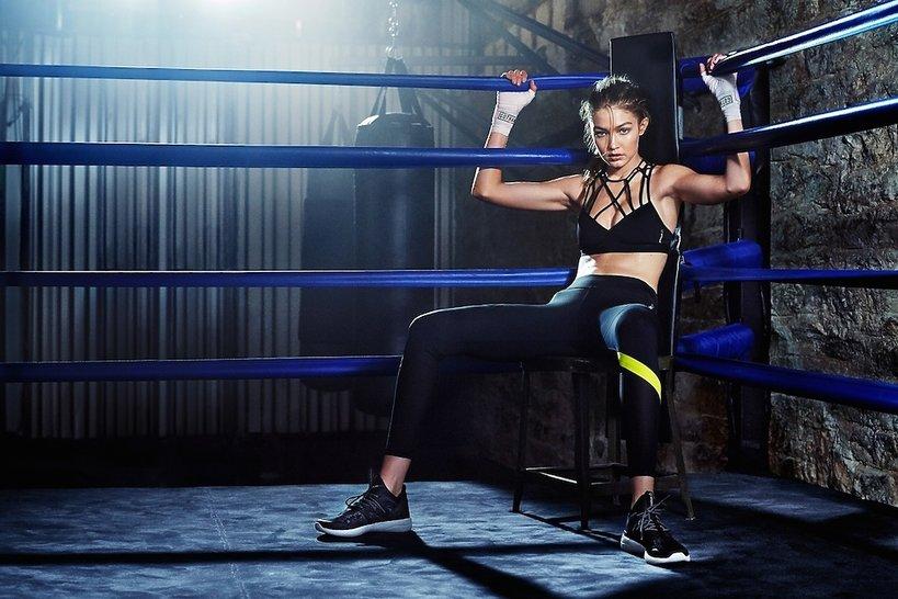 Gigi Hadid w kampanii marki Reebok